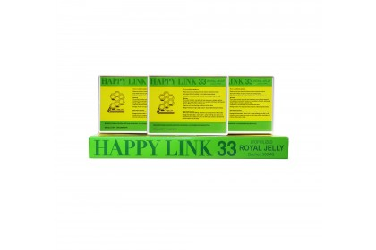 [Buy 5 FREE 1]Happy Link Royal Jelly 500mg x 33sachets x 6 Boxes