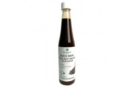 WL Organic Black Bean Soy Sauce (Thick)  - [Traditional, Sun-dried, No MSG]