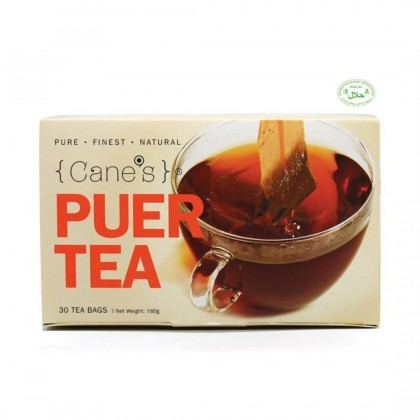 [TWIN PACK] Purple Cane's Puer Tea (30 tea bags) x 2 + FREE 300ml Humidifier [Pure. Finest. Natural]