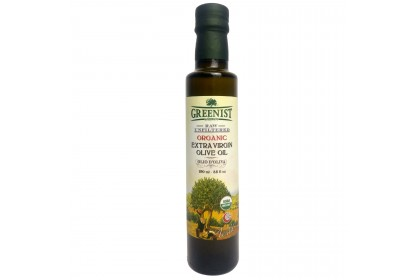 Greenist Organic Extra Virgin Olive Oil [Cold Pressed, Raw & Unfiltered] 250ml