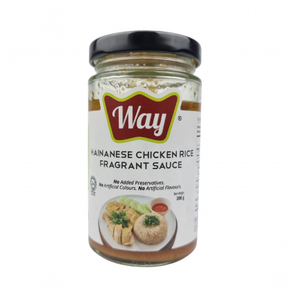 Way Hainanese Chicken Rice Fragrant Sauce 200g