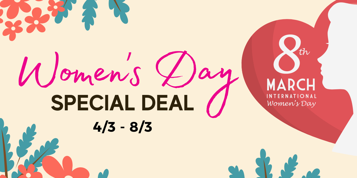 Wholesome living Women's Day Deal