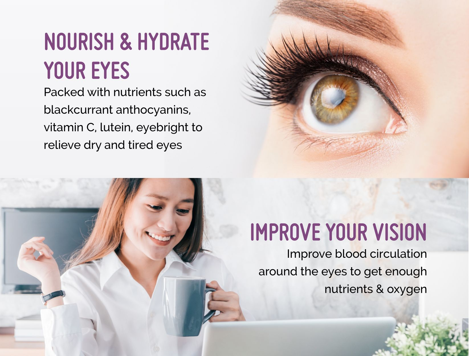 Berry Bright Nourish Hydrate Eye Improve Vision