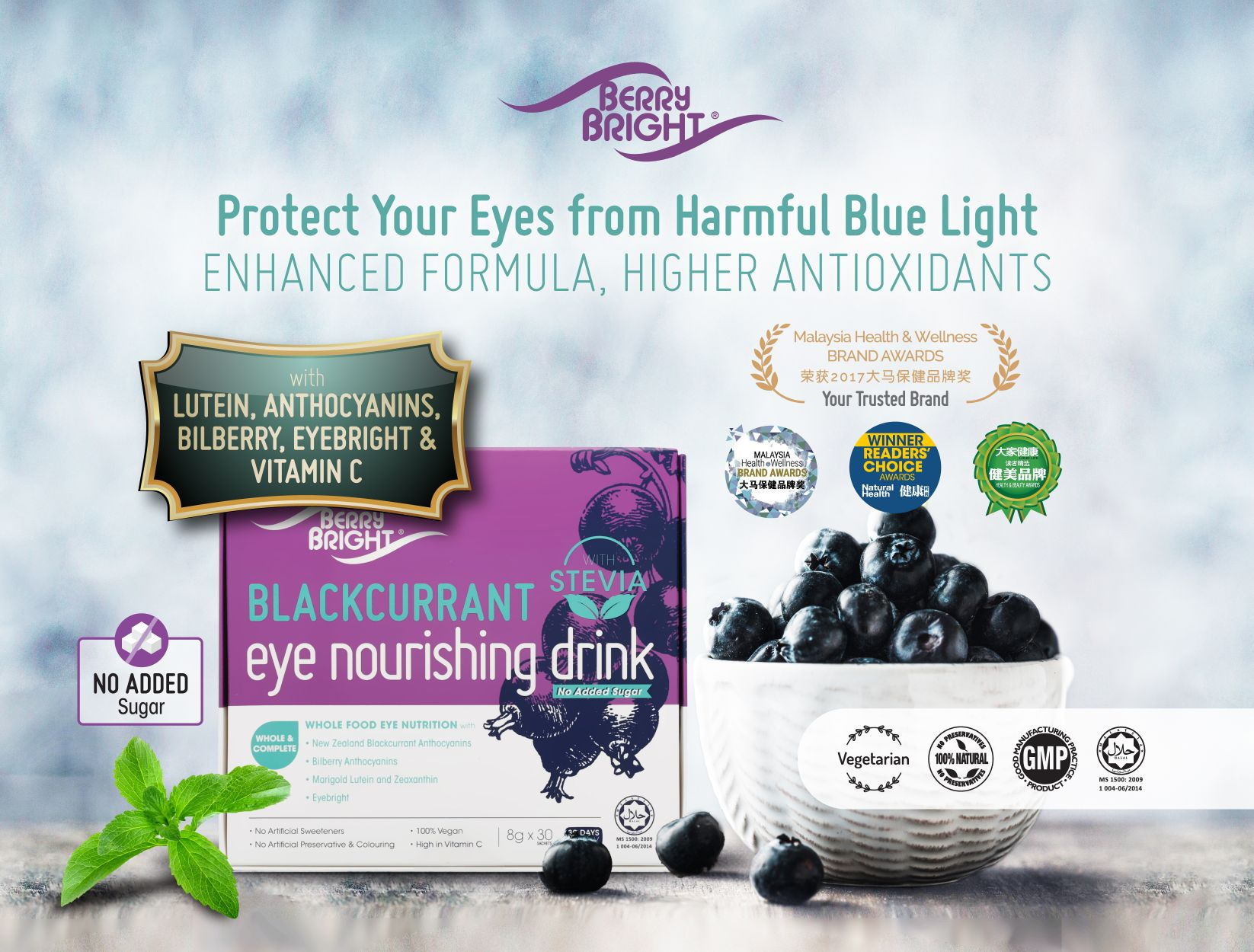 Berry Bright Stevia Product Cover